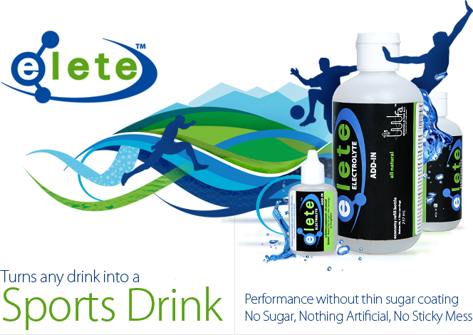 Turn any drink into a sport drink